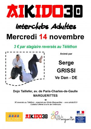 Interclubs adultes Marguerittes le 14 novembre