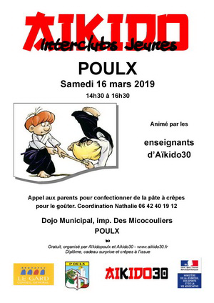Interclubs Jeunes à Poulx samedi 16 mars