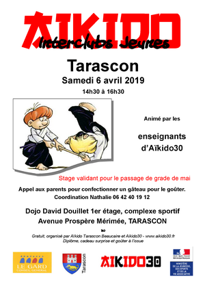 Interclubs Jeunes le 6 avril à Tarascon