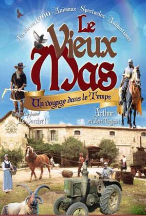 Sortie famille à «Le Vieux Mas» à Beaucaire le 18 mai 2019